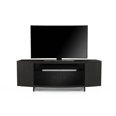 Sweep 78 TV Stand Color: Charcoal Stained Ash
