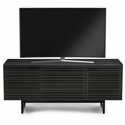 Corridor 65 TV Stand Color: Charcoal Stained Ash