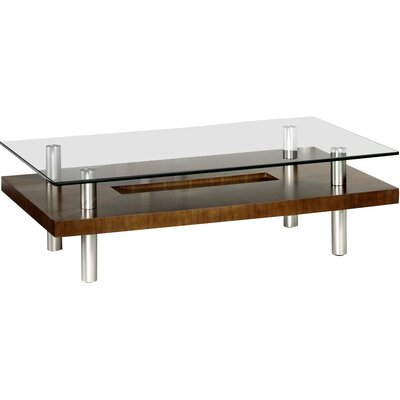 Hokkaido Square Coffee Table Finish: Chocolate Walnut