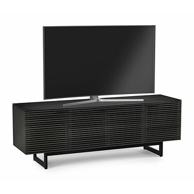 Corridor 79 TV Stand Color: Charcoal Stained Ash