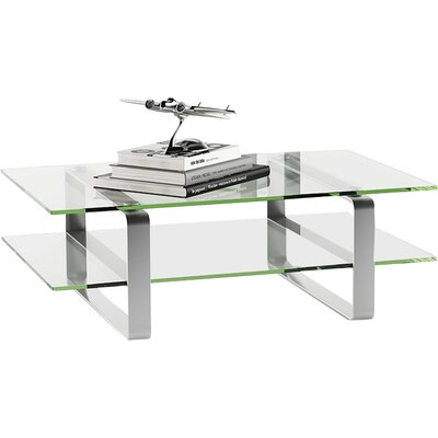 Stream Coffee Table Finish: Clear Glass