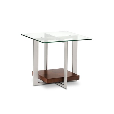 Cheap BDI USA Traverse End Table Color: Chocolate Stained Walnut (BDI1175_5805710)