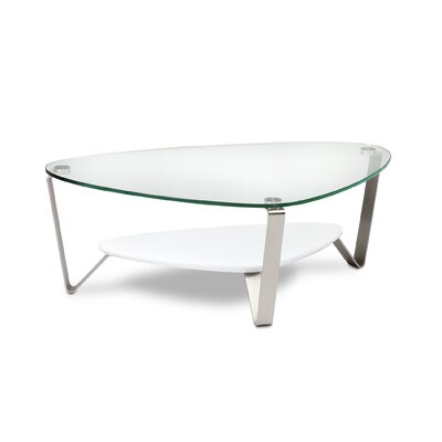 Dino Coffee Table Color: Gloss White