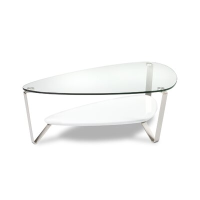 Dino Coffee Table Finish: Gloss White