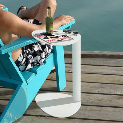 Bink Mobile Media Side Table Finish: Salt