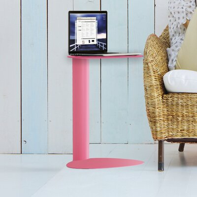 Bink Mobile Media End Table Color: Pink