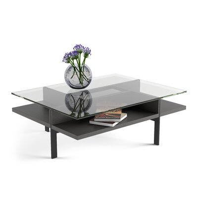 Terrace - Rectangular Coffee Table Color: Charcoal