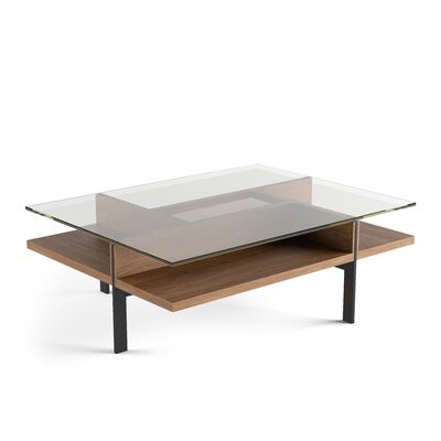 Terrace - Rectangular Coffee Table Color: Natural Walnut