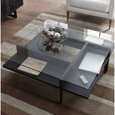 Terrace - Square Coffee Table Color: Charcoal