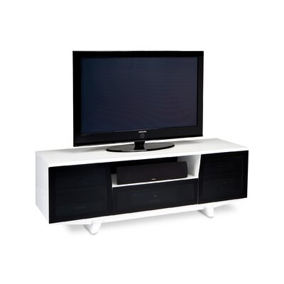 Marina 73 TV Stand Color: Gloss White
