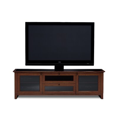 Novia 74 TV Stand Color: Cocoa Stained Cherry