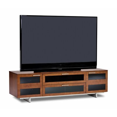 Avion II 77 TV Stand Color: Natural Stained Cherry