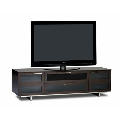 Avion II 77 TV Stand Color: Espresso Stained Oak