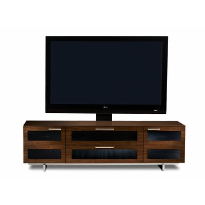 Avion II 77 TV Stand Color: Chocolate Stained Walnut