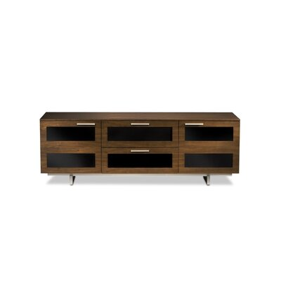 "Avion Ii Tv Stand For Tvs Up To 60"" Color: Chocolate Stained Walnut"