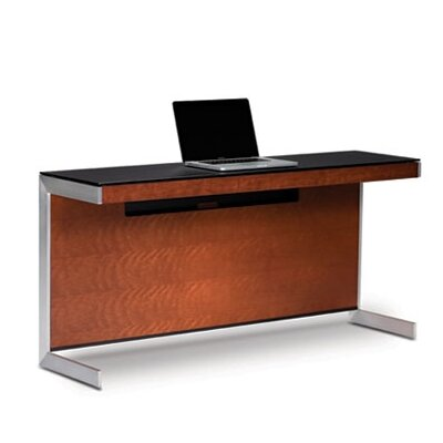 "Sequel 25"" H X 59"" W Desk Privacy Panel Finish: Cherry"