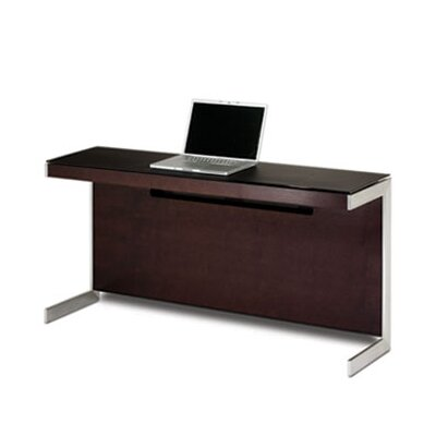 "Sequel 25"" H X 59"" W Desk Privacy Panel Finish: Chocolate Stained Walnut"