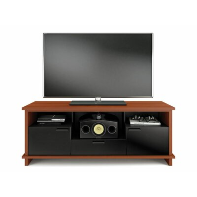 Braden 69 TV Stand Color: Cherry