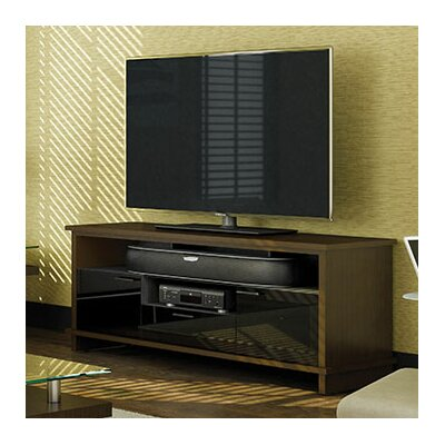 Braden 69 TV Stand Color: Chocolate Stained Walnut