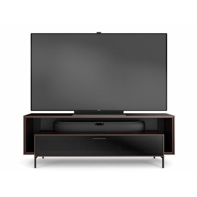 Cavo Triple-Width TV Stand Finish: Espresso Stained Oak