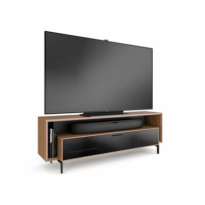 Cavo 70 TV Stand Color: Natural Walnut