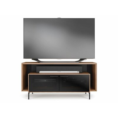 Cavo Wide Double TV Stand Finish: Natural Walnut