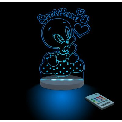 Warner Bros. Looney Tunes Baby Tweety Sweetheart Night Light