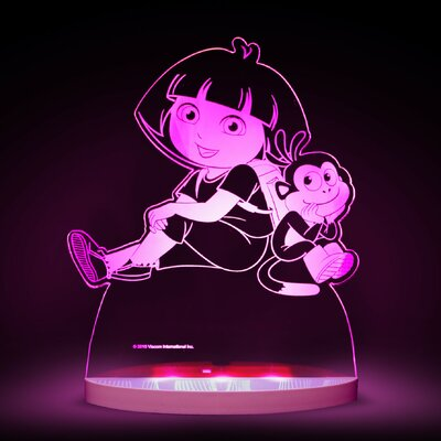 Nickelodeon Dora the Explorer and Boots LED 3-Light Night Light
