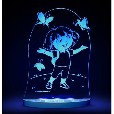 Nickelodeon Dora the Explorer and Butterfly LED 3-Light Night Light