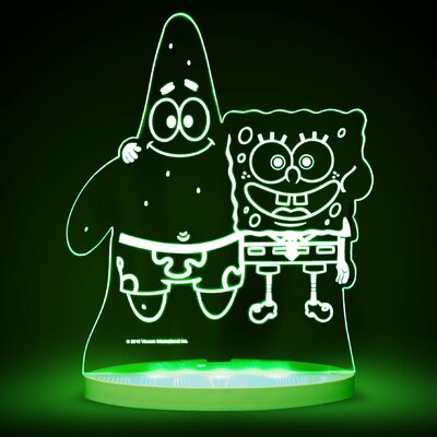 Nickelodeon SpongeBob SquarePants and Patrick LED 3-Light Night Light