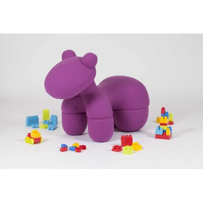 Toto Kids Novelty Chair Color: Pink CH-SPOT-PINK