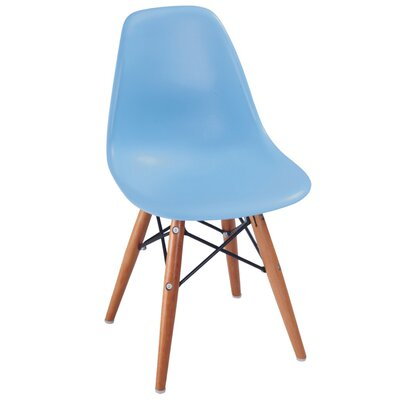 Daffy Side Chair Upholstery: Blue