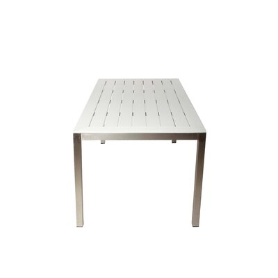 Roy Dining Table Finish: White
