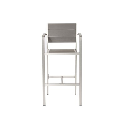 Jelinek 30 Bar Stool Color: Gray