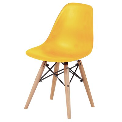 Daffy Side Chair Upholstery: Yellow