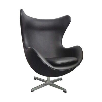 Mod Jonathan Lounge Chair Upholstery: Black