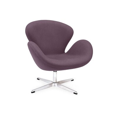Star Lounge Chair Upholstery: Purple
