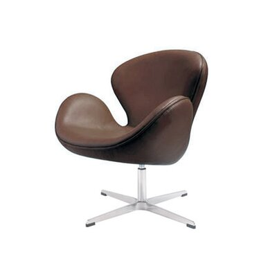 Star Lounge Chair Upholstery: Brown