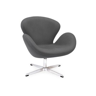 Star Lounge Chair Upholstery: Charcoal
