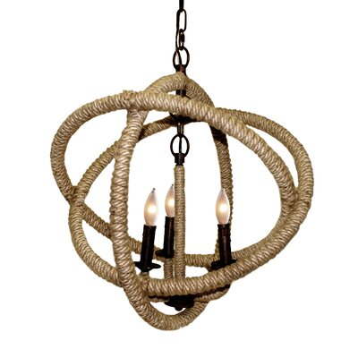 Hera 3-Light Foyer Pendant