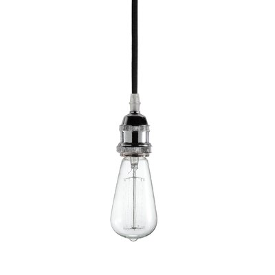 Delia 1-Light Mini Pendant Base Finish: Chrome