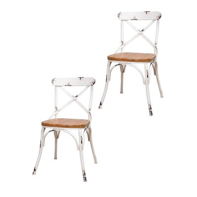 Dylan Side Chair Finish: White