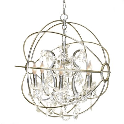 Hera 5-Light Globe Pendant