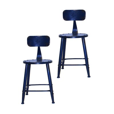 David Side Chair Finish: Blue