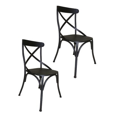 Dylan Side Chair Finish: Dark Gray