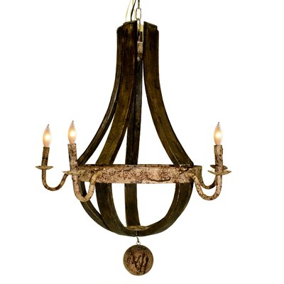Margaret 5-Light Candle-Style Chandelier