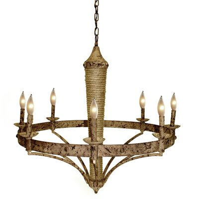Joanna 8-Light Candle-Style Chandelier