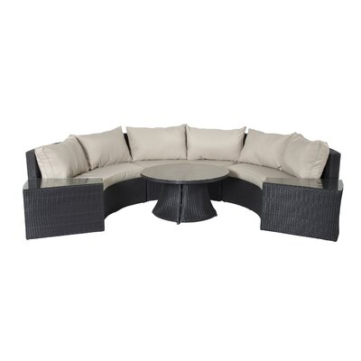 Light 6 Piece Seating Group with Cushions