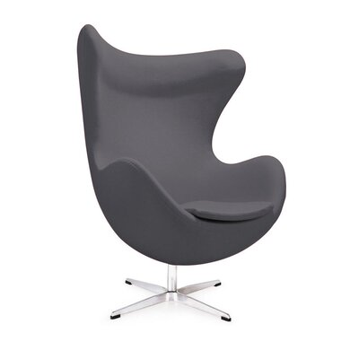 Mod Lounge Chair Color: Charcoal