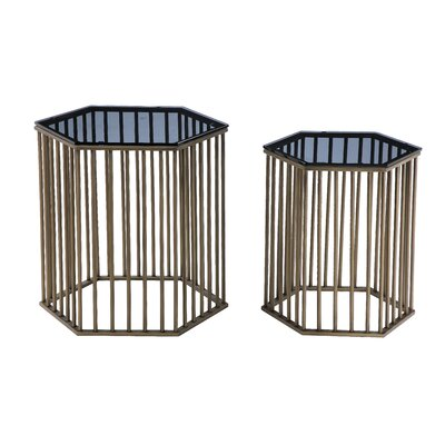 Randolf 2 Piece End Table Set